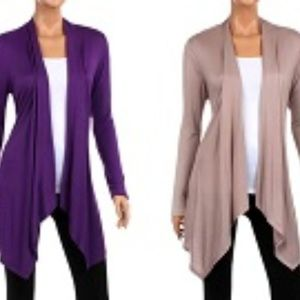 Rags & Couture 2 Pack Lightweight Cardigan